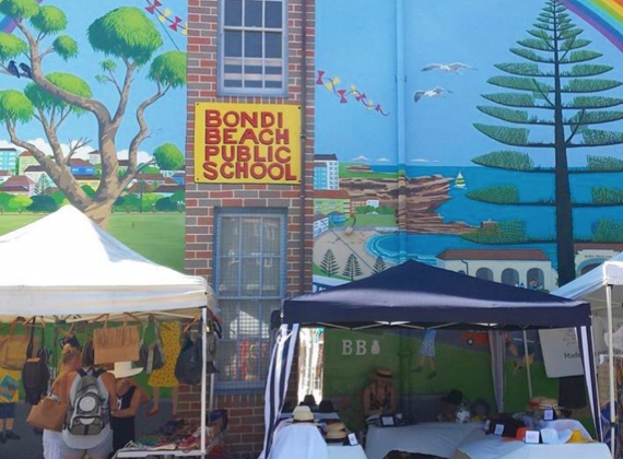 Bondi Markets Sunday 18/03/18 10am-5pm